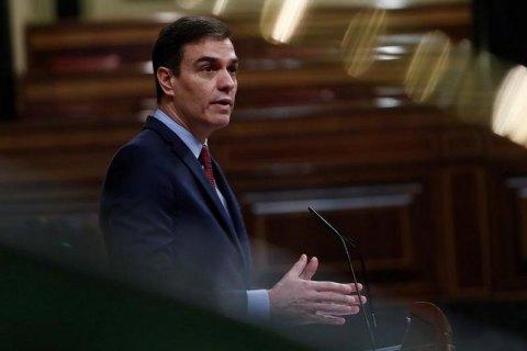 Прем'єр Іспанії запропонував продовжити надзвичайний стан до 21 червня