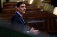 Премьер Испании предложил продлить чрезвычайное положение до 21 июня