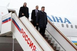 Янукович хочет упростить пересечение границы с Россией
