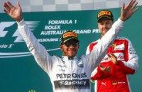 Хемілтон виграв першу гонку сезону в Ф-1