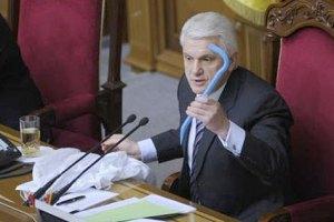 """Литвин обозвал оппозиционера """"хамлом"""""""