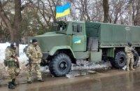 Возле Станицы Луганской погибли двое бойцов Нацгвардии