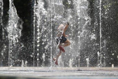 В субботу в Киеве жарко, без дождя