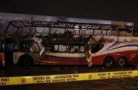 При пожаре автобуса в столице Перу погибли не менее 20 человек