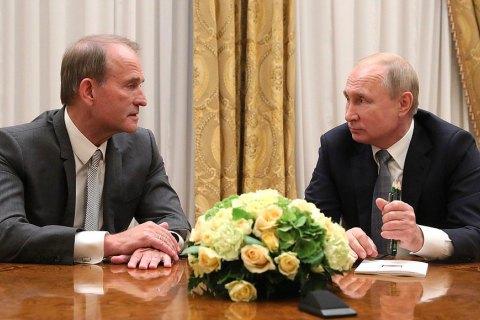 Медведчук знову зустрівся з Путіним у Москві і розповів, що вакцинувався від коронавірусу в окупованому Криму