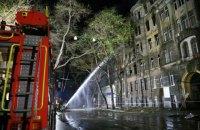 Пожар в одесском колледже уничтожил научную библиотеку и коллекции Института морской биологии