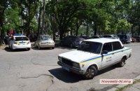 В Николаеве два водителя устроили стрельбу из-за места на парковке