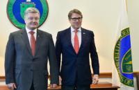 Порошенко встретился с министром энергетики США в Вашингтоне (обновлено)