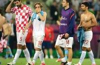 Срна, Вуко и Кранчар в стартовом составе хорватов