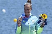 Українка Людмила Лузан завоювала бронзову медаль у веслуванні на Олімпіаді