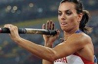 Исинбаева уйдет из спорта уже в агусте