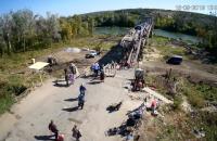 На мосту в Станице Луганской установили веб-камеру