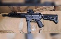 Украинских пограничников вооружат пистолетами-пулеметами SMG-15