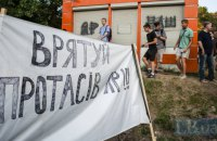 Кличко вимагає зупинити будівництво в Протасовому Яру до врегулювання конфлікту з громадою