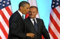 Польский премьер подарил Обаме iPad