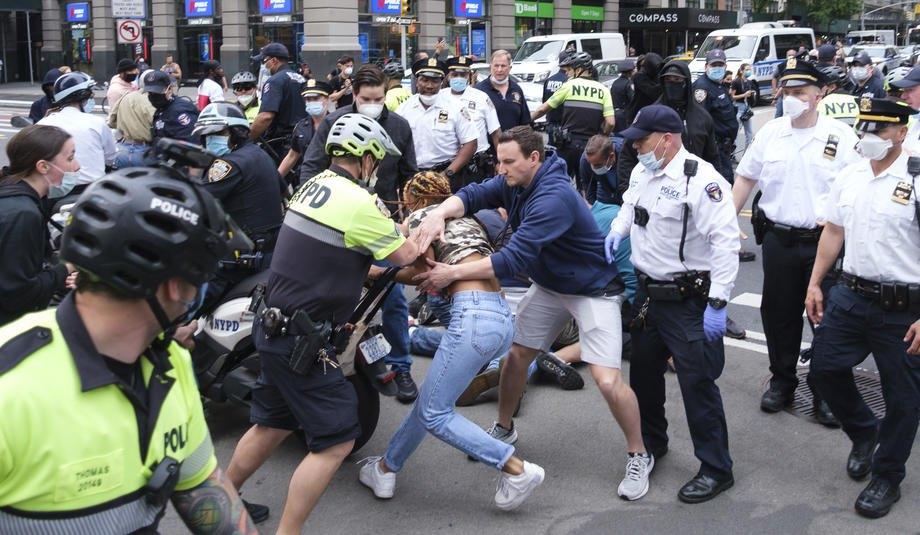 Протести в Нью-Йорку, 29 травня 2020
