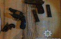 В Одессе задержали четырех мужчин, стрелявших по автомобилям
