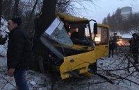 КГГА после столкновения двух маршруток попросила отменить мораторий на проверки перевозчиков