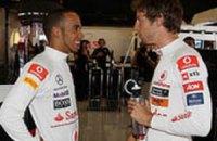 Баттон извинился перед Хэмилтоном за инцидент на Гран-при Канады