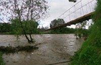 Мощные ливни на Закарпатье вызвали опасные оползни