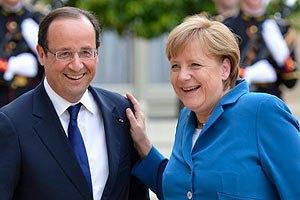 Меркель и Олланд выступят в Европарламенте 7 октября