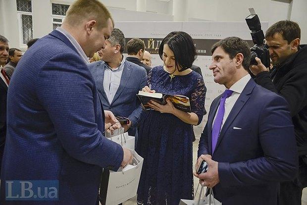 Дмитрий Булатов, Соня Кошкина, советник Арсена Авакова Зорян Шкиряк