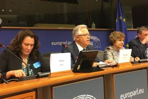 """СБУ сорвала прямое включение нанятых за 100 гривен """"журналистов"""" в дискуссию в Европарламенте"""