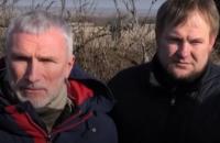 Российский депутат посетил Золотое после отвода украинских войск