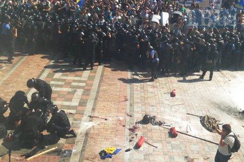 """Аваков обвинил """"Свободу"""" во взрыве под Радой"""