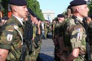 Германия, Франция и Польша хотят единый штаб вооруженных сил ЕС
