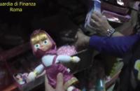 В Риме конфисковали 7 млн игрушек и рождественских украшений