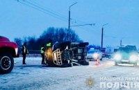 В Івано-Франківській області в ДТП загинули дві людини і п'ятеро отримали травми