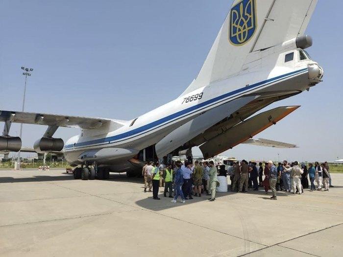 Евакуація громадян України і членів їх сімей, іноземних громадян які мають реальні загрози життю та здоров'ю з Афганістану в Україну.