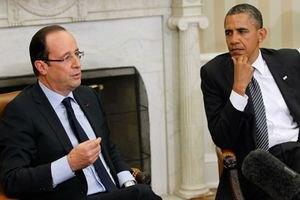 Олланд познакомился с Обамой