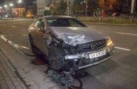 Грецький дипломат потрапив у ДТП у Києві