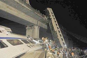 В железнодорожной катастрофе в Китае погибло 35 человек