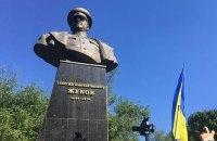 Минкульт отказался признать памятником бюст Жукова в Харькове