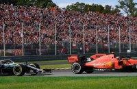 У Формулі-1 на Гран-прі Італії на трибунах у Монці з'явилися картонні глядачі