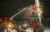 У Пакистані кількість жертв пожежі на фабриці наближається до 300