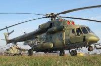 В России после жесткой посадки полностью сгорел вертолет