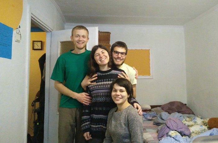 Елеонора з друзями у Харкові.