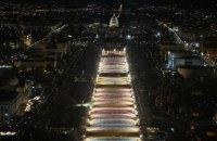 У Вашингтоні встановили 200 тисяч прапорів в честь тих, хто не зможе прийти на інавгурацію Байдена