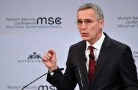 """НАТО """"потребує більшого"""" для вступу України, – Столтенберг"""
