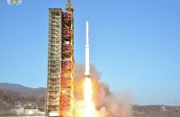 КНДР запустила ракету в сторону Японского моря