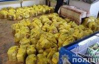 На Луганщині виявили схему підкупу виборців продуктовими наборами