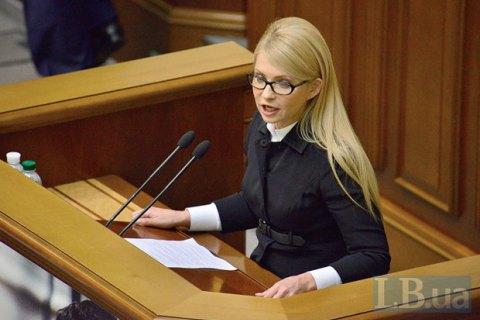Тимошенко попросила Обаму и Меркель помочь с освобождением Савченко