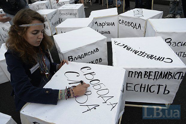 Свобода слова в Украине постепенно сходит на нет