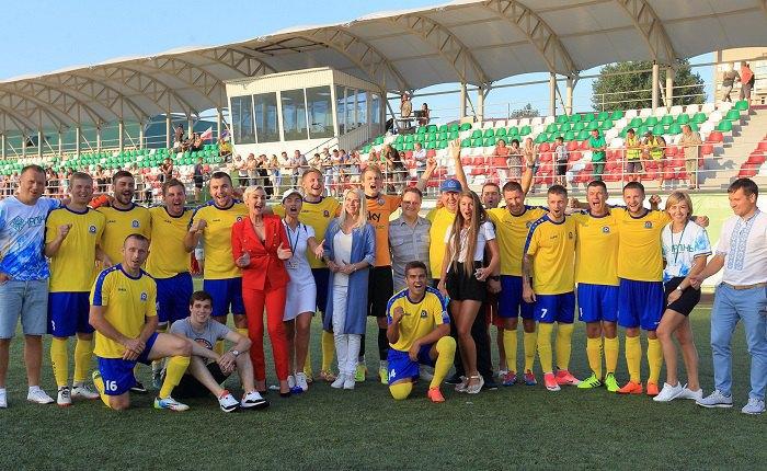 Учасники чемпіонату світу з футболу серед діаспорних команд в Ірпені-2018