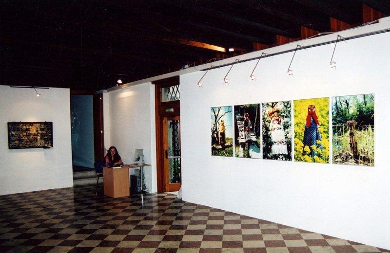 Экспозиция проекта Николая Бабака