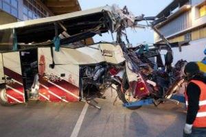 В Перу автобус с пассажирами сорвался в пропасть